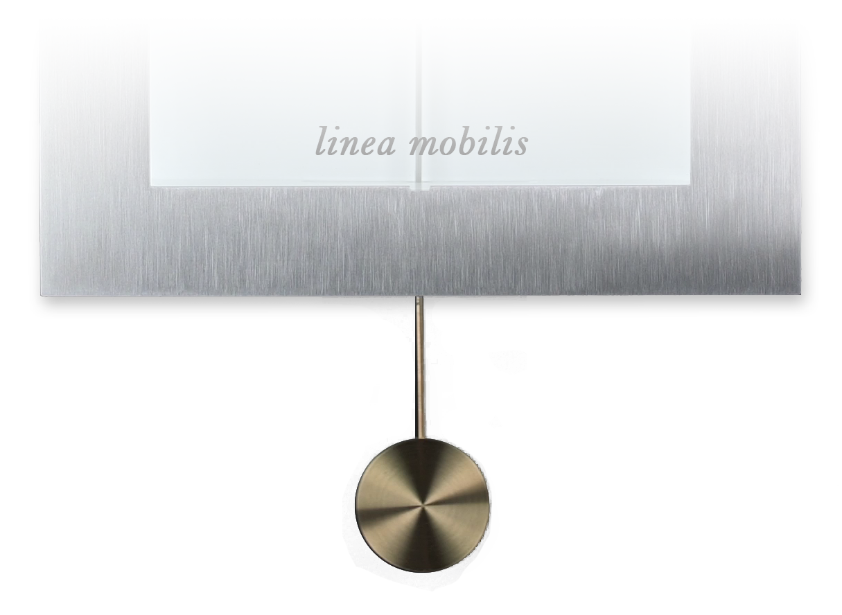 mécanisme en cours de réalisation pendule linea mobilis